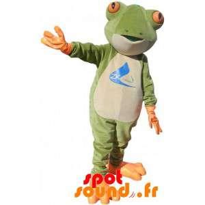 Mascot vihreä sammakko,...