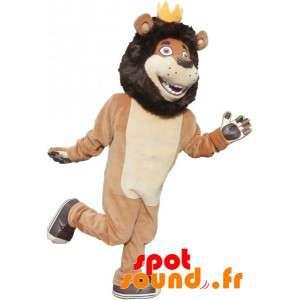 Mascot czarny Lew,...