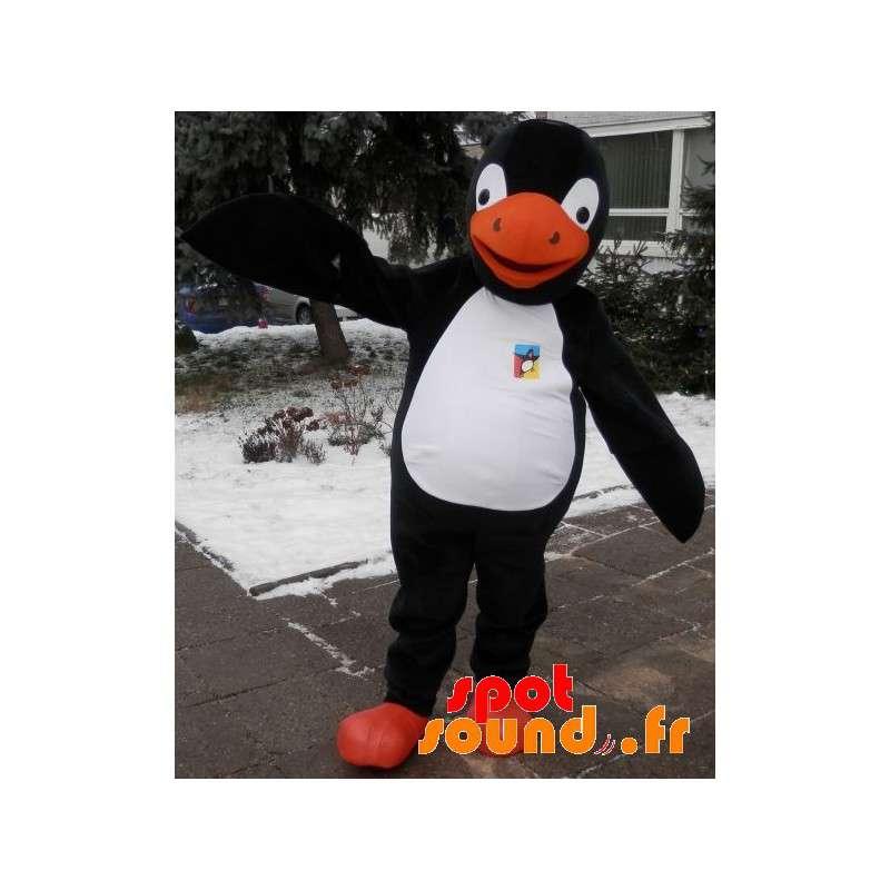 New Mascotte de pingouin noir 18775688b24