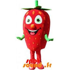 Mascot riesige Erdbeere....