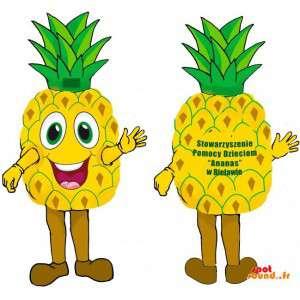 Mascot riesige gelbe und...