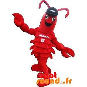 Lobster maskot. Mascot obří rak