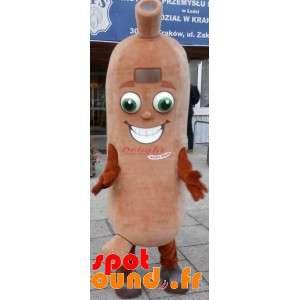 Mascot Giant Sausage....