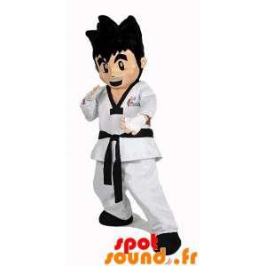 Mascot karateka. Poika...