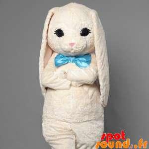 White Rabbit Maskottchen...