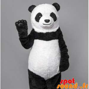 Panda-Maskottchen,...