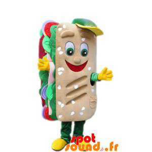Giant Mascot Sandwich With...