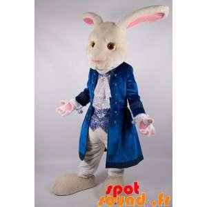 Alice in Wonderland White Rabbit Mascot - Spotsound maskot