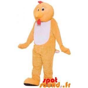Henne Maskottchen, orange...