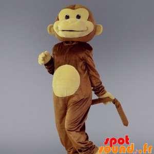 Ruskean ja beigen apina...