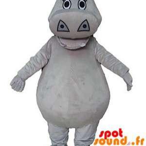 Mascot Gray Hippopotamus,...