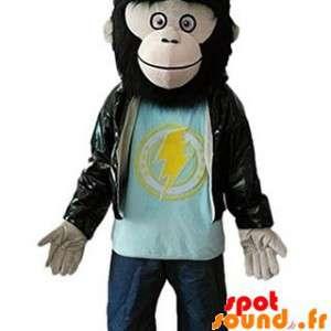Hairy Monkey Mascot Gorilla...