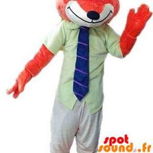 Orange Fuchs Maskottchen...