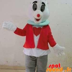 White Rabbit Mascot van...