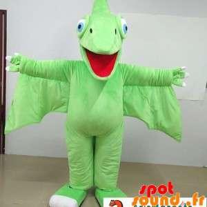 Green Dragon Mascot,...