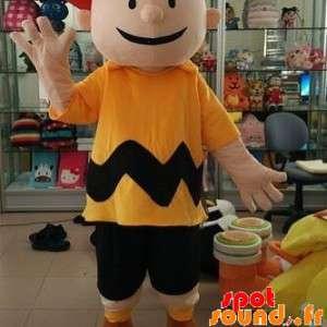 Mascot Charlie Brown, Boy In Comics Snoppy