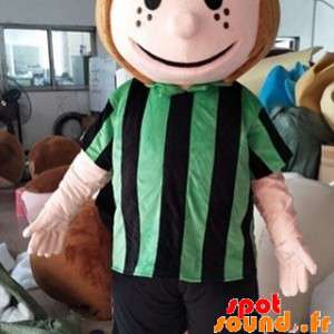 Girl Mascot, A Woman With A...