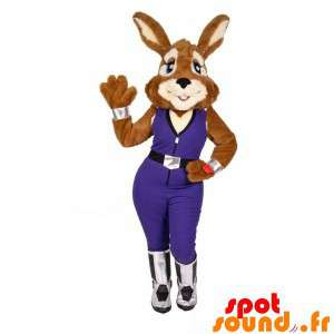 Mascot Of Rabbit With A...