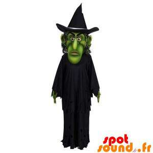 Black Dressed Green Witch...