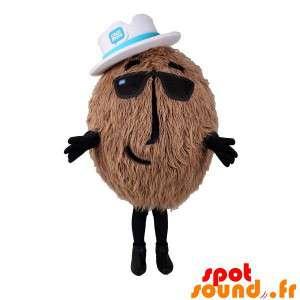 Riesen-Kokos-Maskottchen,...