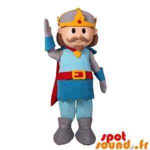 Knight Mascot Mustache...