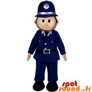 Polizei-Maskottchen. Mann...