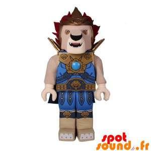Mascot Lego Shaped Lion...