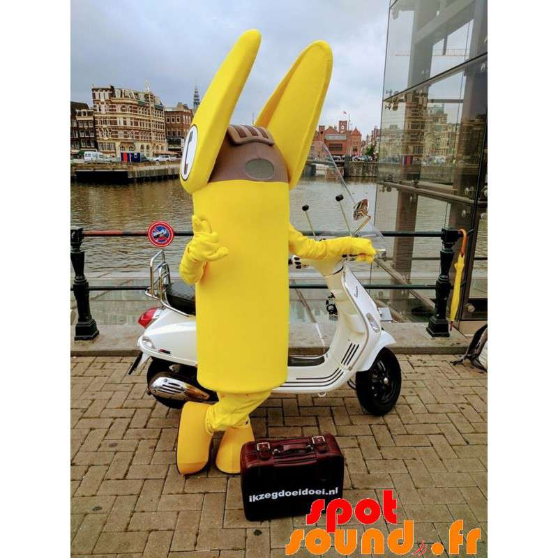 Yellow Telephone Terminal Mascot, Giant