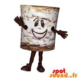 Choklad spannmålsmaskot. Frukostmaskot - Spotsound maskot