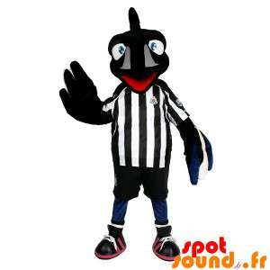 Raven Mascot With A Sports...