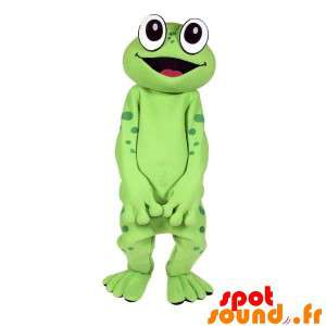 Mascot Green Frog, Very Funny