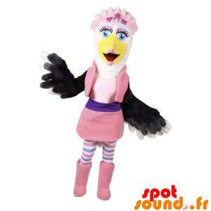 Mascot Colorful And Female...