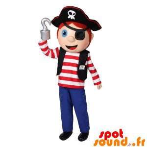 Boy Mascot Pirate jurk....