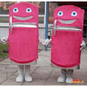 2 Kühlschrank mascots,...