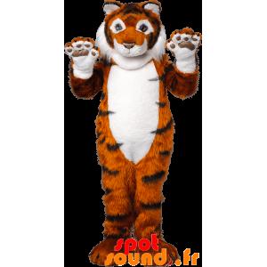 Orange Tiger-Maskottchen,...