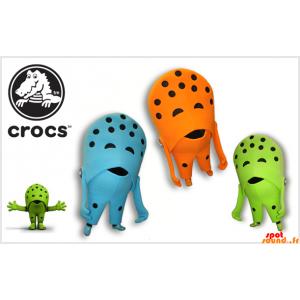 3 Crocs mascotes sapato....