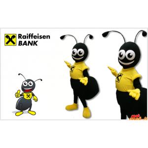 Musta muurahainen maskotti...