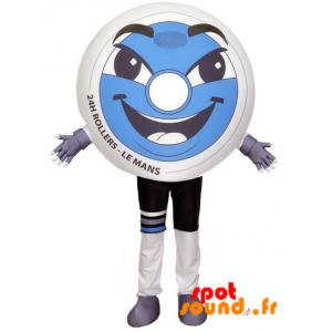 Mascotte de roue de roller. 24h du Mans roller - MASFR034204 - Mascottes d'objets
