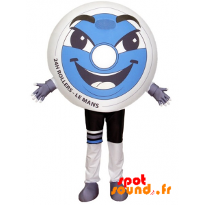 Roller Wheel Mascot. Le Mans 24H Roller - MASFR034204 - Mascots of objects