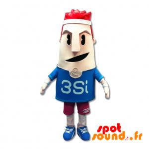Mascotte de bonhomme sportif. Costume d'homme sportif - MASFR034205 - Mascotte sportives