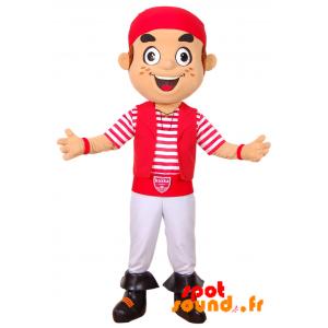 Mascot Privateer Koxka, Biarritz Olympique - MASFR034220 - Human mascots