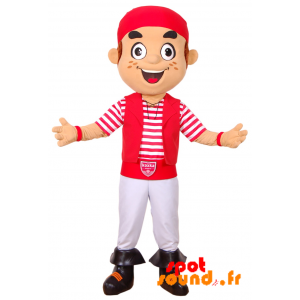 Mascotte de corsaire, de Koxka, Biarritz Olympique