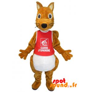Mascot Savings Bank. Squirrel Savings Bank - MASFR034226 - Mascots squirrel