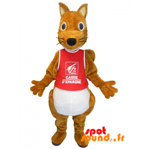 Mascot Savings Bank. Squirrel Savings Bank - MASFR034226 - mascotte