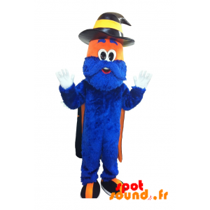 Basket Mascot Ccr. Stregone Mascotte, L'Uomo Blu - MASFR034229 - mascotte