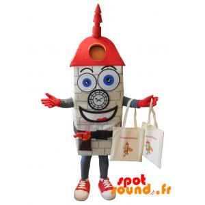 Mascot Champagnole. Church Mascot, Monument - MASFR034235 - Mascots home