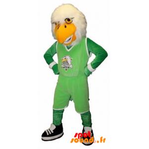 Mascot Eagle, Vulture In Sportswear - MASFR034246 - mascotte
