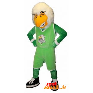 Mascotte d'aigle, de vautour en tenue de sport - MASFR034246 - Mascotte sportives