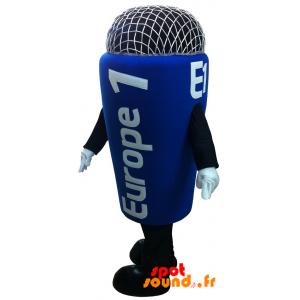 Mascotte de micro Europe 1. Mascotte de radio