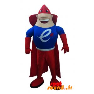 Mascotte de super-héros très musclé et coloré - MASFR034259 - mascotte
